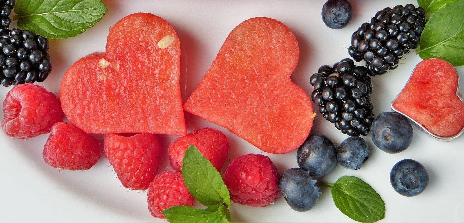 Wassermelone Herz